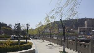 Across the street from Pagoda Mountain